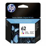 HP 62 tri-colour spalvota rašalo kasetė
