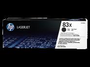 HP 83X LaserJet didelės talpos juoda (Black) tonerio kasetė