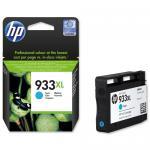 """HP 933XL didelės talpos žydro (Cyan) """"OfficeJet"""" rašalo kasetė"""