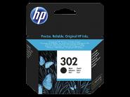 HP 302 Originali juodo (Black) rašalo kasetė