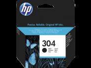 HP 304 juoda rašalo kasetė