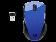 HP X3000 mėlyna belaidė optinė pelė