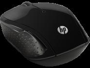 HP 200 juoda bevielė pelė