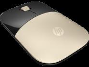 HP Z3700 auksinės spalvos belaidė pelė