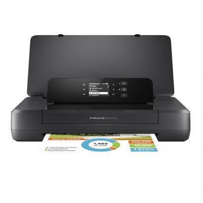 HP Officejet 200 mobilus spalvotas rašalinis spausdintuvas