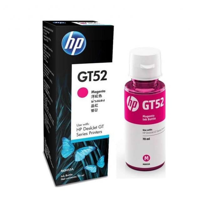 HP GT52 originalus rausvo (Magenta) rašalo buteliukas 70ml