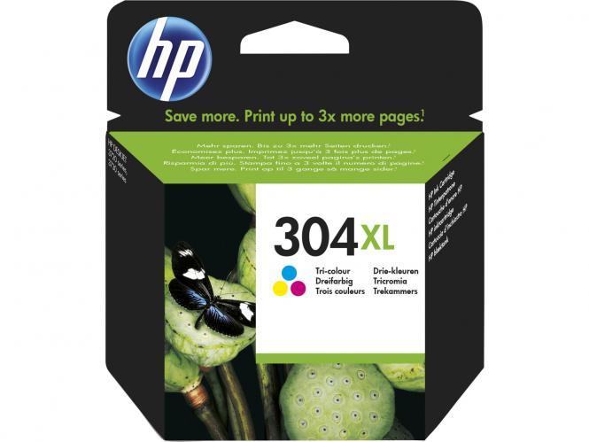 HP 304XL Tri-color trijų spalvų rašalo kasetė